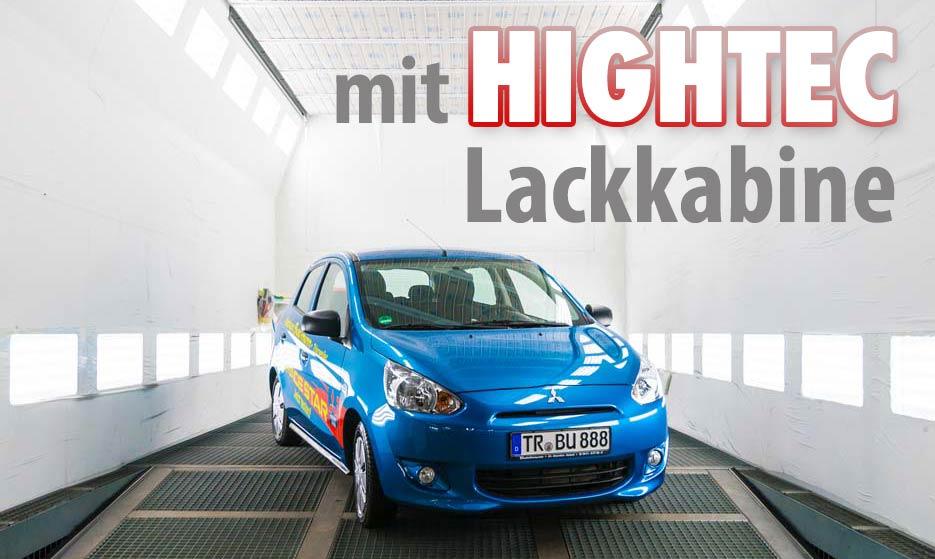 hightec Lackkabine Autohaus Buschmann Service Reparaturen alle Marken