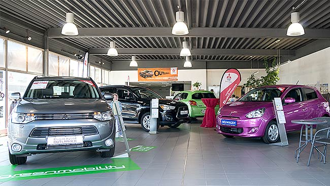 Autohaus Buschmann Showroom