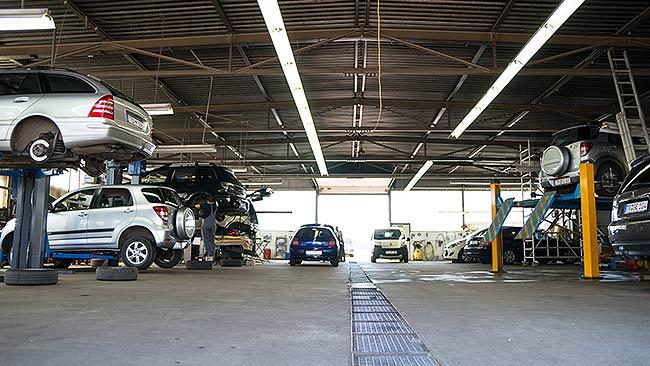 Werkstatt Autohaus Buschmann Trierweiler