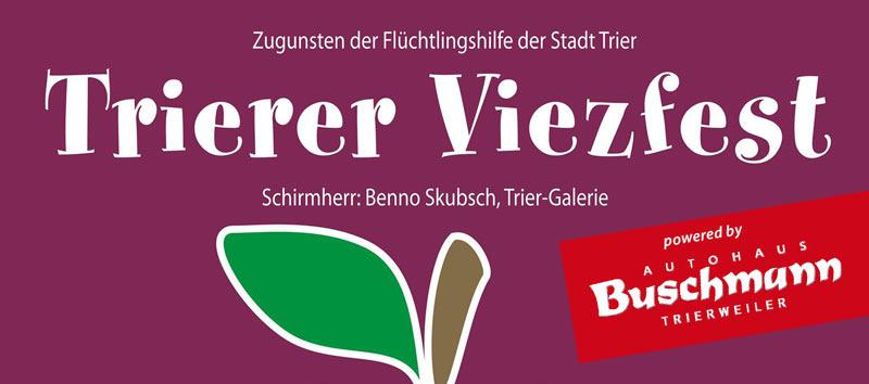 Trierer Viezfest 2016 powered by Autohaus Jörg Buschmann
