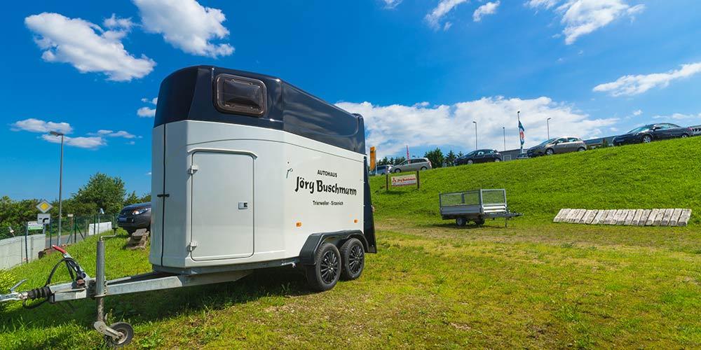 Pferdeanhänger Autohaus Jörg Buschmann Mitsubishi Trier