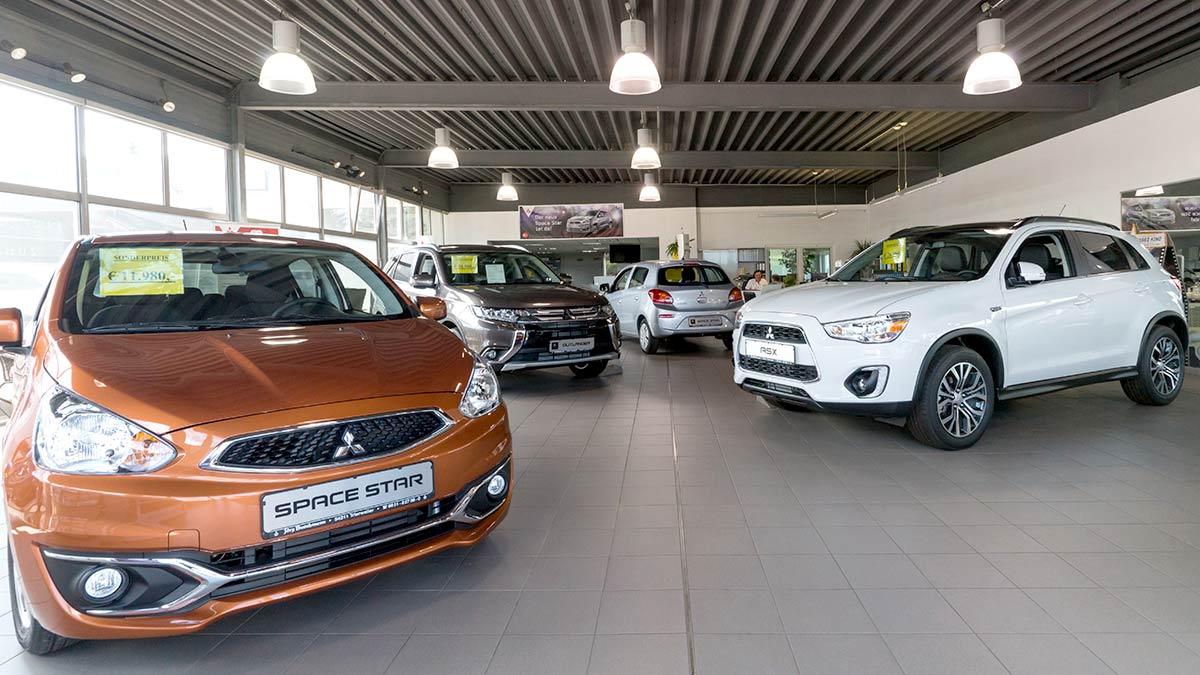 Verkauf Autohaus Jörg Buschmann Mitsubishi Trier