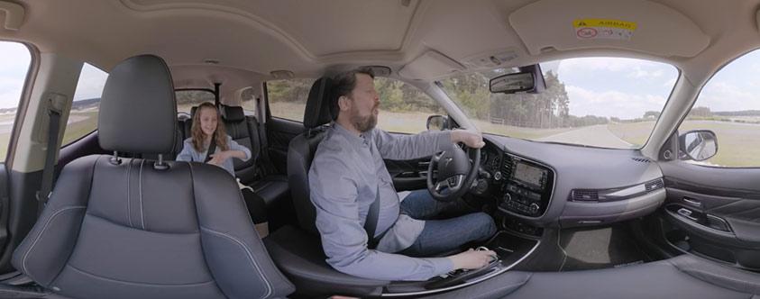 Mitsubishi Outlander Hybrid Probefahrt