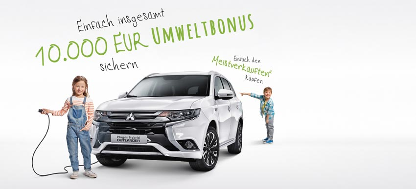 Outlander Hybrid Aktion 10.000 EUR