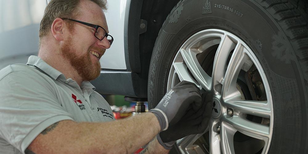Buschmann Werkstatt Reifenwechsel