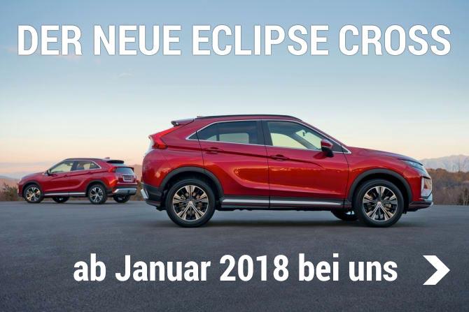 Mitsubishi Eclipse Cross ab Januar 2018