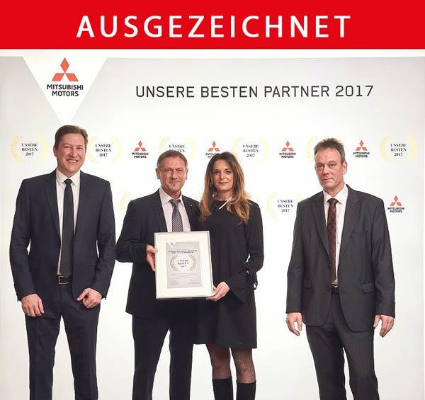Mitsubishi unsere besten Partner 2017 Autohaus Buschmann Trierweiler