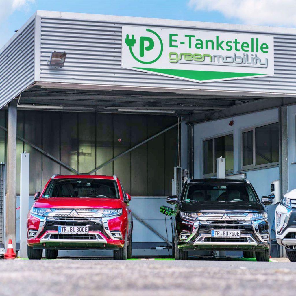 E-Tankstelle Trierweiler Autohaus Jörg Buschmann