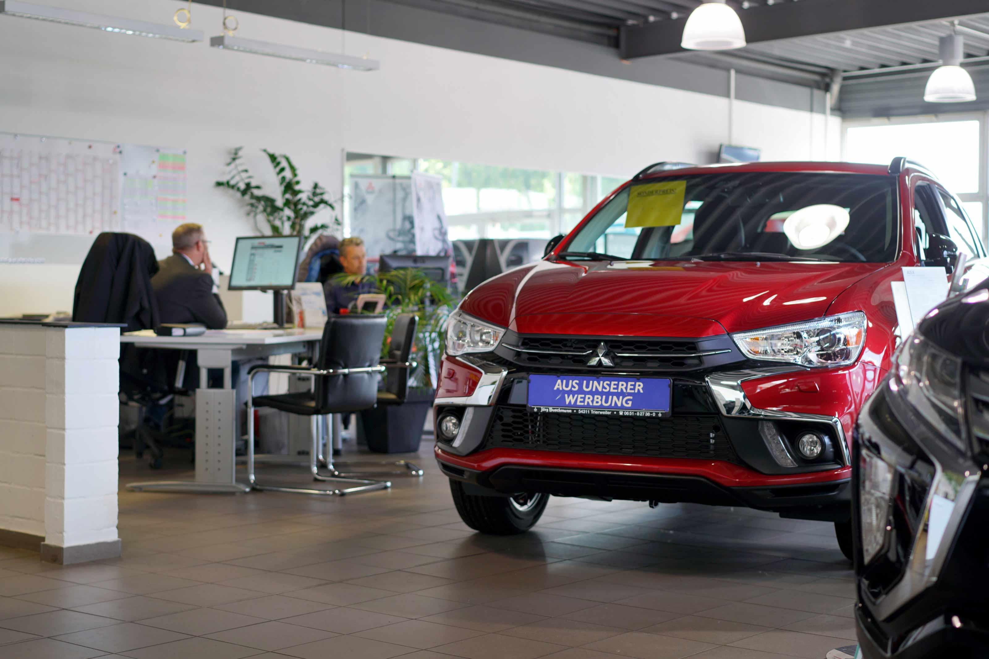 Mitsubishi Neuwagen Verkauf Autohaus Jörg Buschmann Trierweiler
