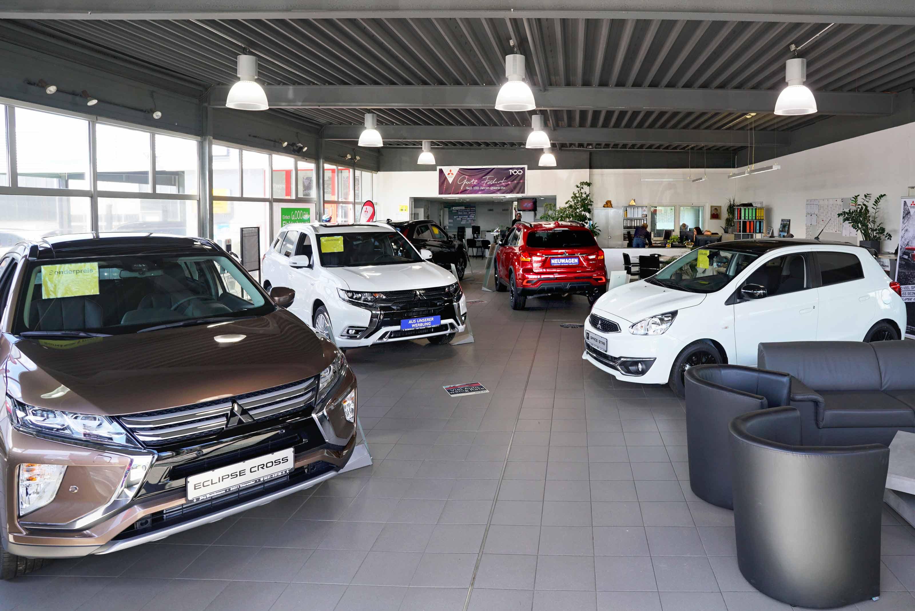 Showroom Autohaus Jörg Buschmann Trierweiler