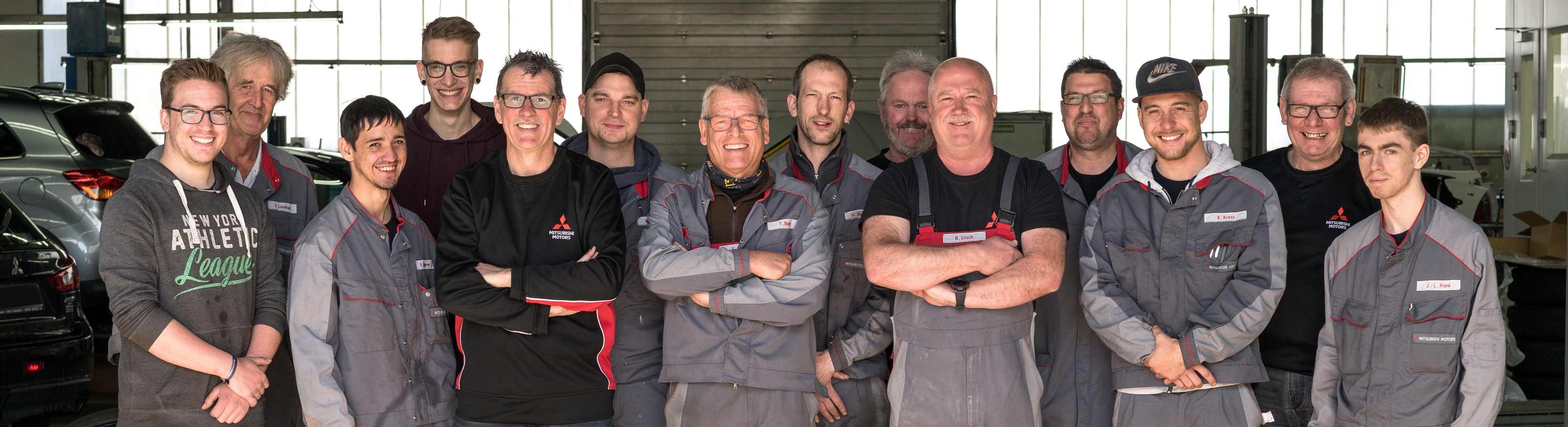 Team Werkstatt Autohaus Jörg Buschmann Trierweiler