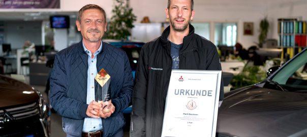 Gewinner Mitsubishi Techniker Olympiade 2019