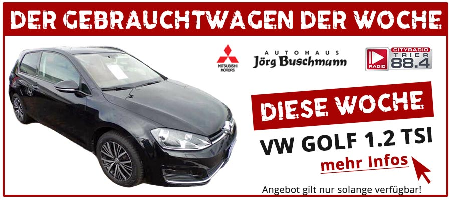Gebrauchtwagen Angebot Autohaus Buschmann Golf 1.2 TSI