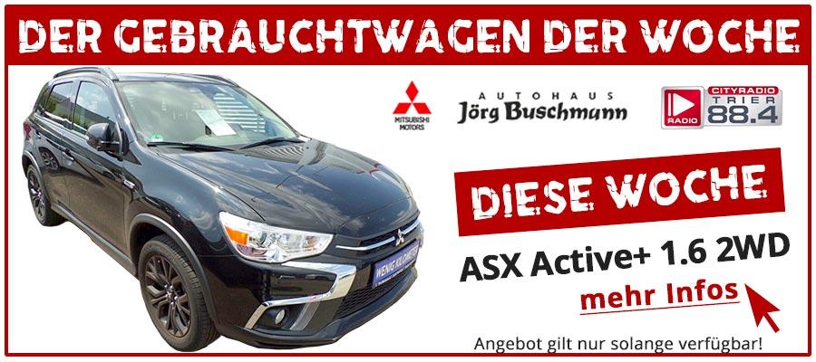 Gebrauchtwagen ASX Active+ GWDW