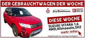 Gebrauchtwagen der Woche Suzuki Vitara 1.6